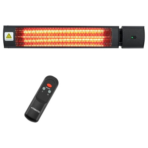1500W Electric Mounted Infrared Heater - Permasteel - image 1 of 4