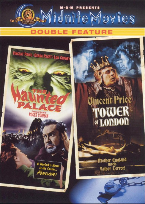 Haunted palace/Tower of london (DVD) - image 1 of 1