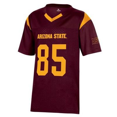 NCAA Arizona State Sun Devils Boys' Short Sleeve Jersey