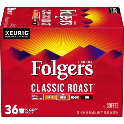 Coffee Pods: Folgers