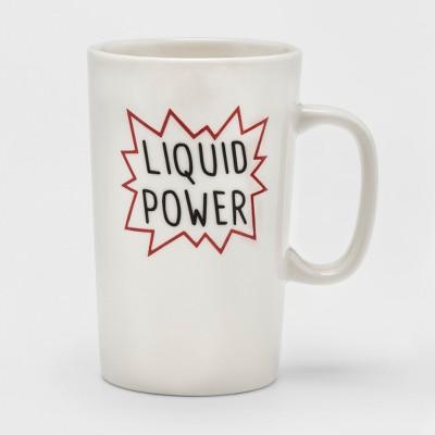 16oz Porcelain Liquid Power Mug White - Threshold™