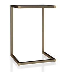 Scarlett C Table Gray - CosmoLiving by Cosmopolitan