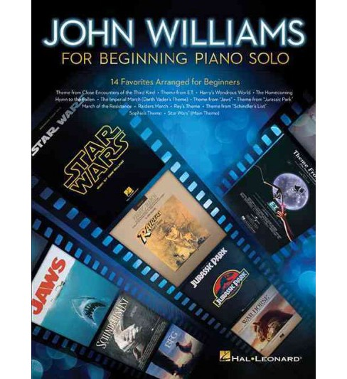 John Williams for Beginning Piano Solo (Paperback) - image 1 of 1