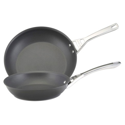 Circulon Infinite 10 and 12 Inch Hard-Anodized Skillets - Black - image 1 of 2