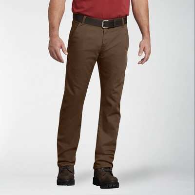 Dickies Men's FLEX Regular Fit Straight Leg Tough Max™ Duck Carpenter Pants
