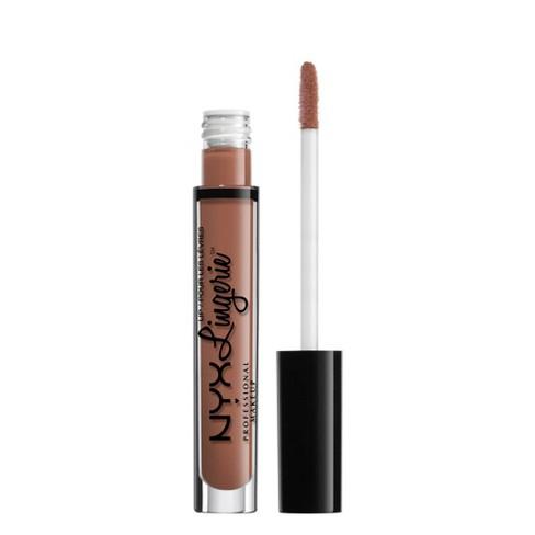 NYX Professional Makeup Lip Lingerie Lipstick Bedtime Flirt - 0.13 fl oz - image 1 of 4