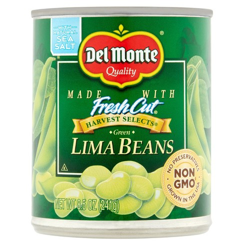 Del Monte Specialties Fresh Cut Green Lima Beans 8.5 oz - image 1 of 1