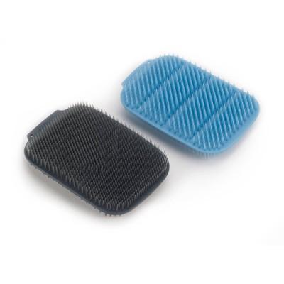 Joseph Joseph CleanTech Washing-up Scrubber (2-pack) - Blue/Gray