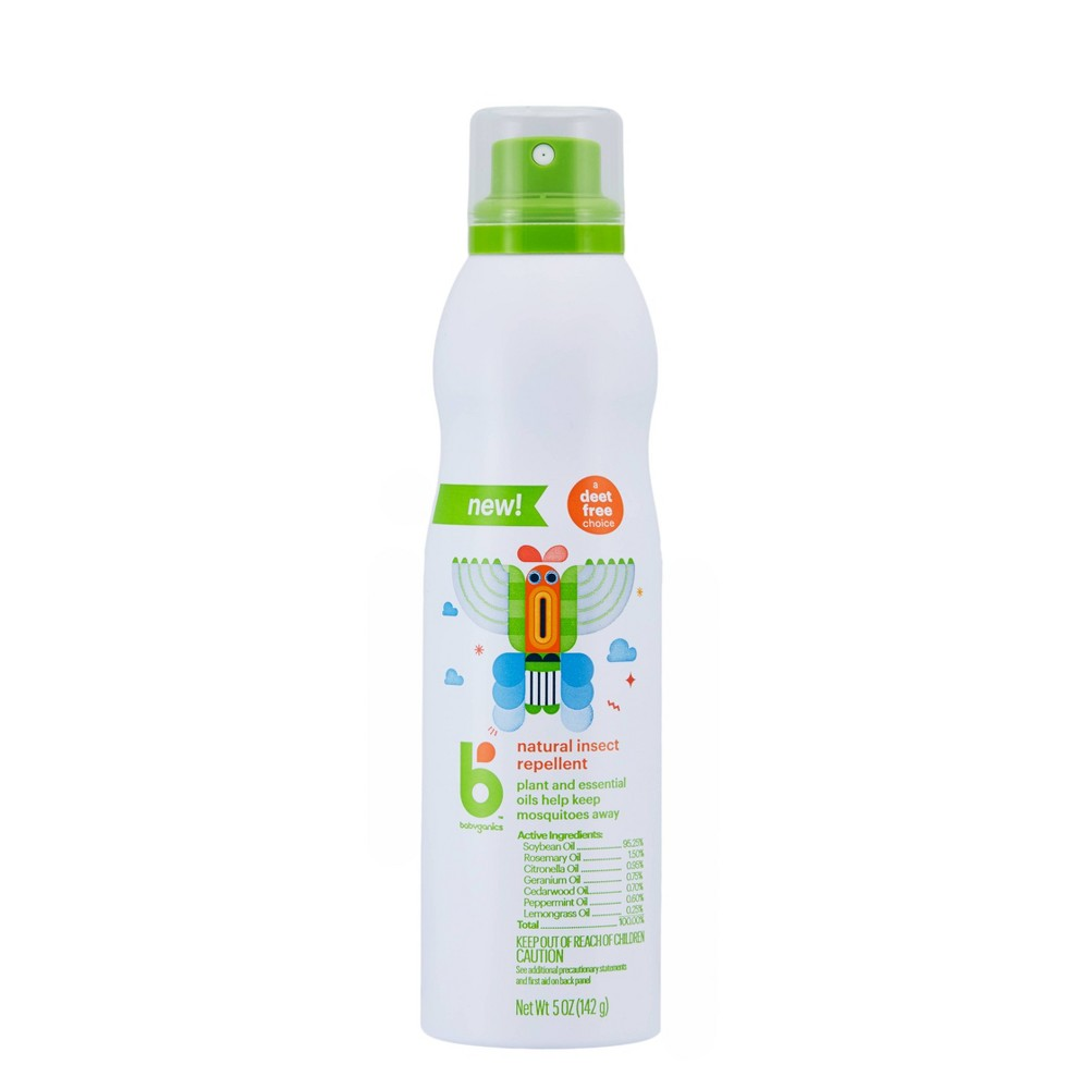 Image of Babyganics 5oz Insect Repellent Continuous Spray