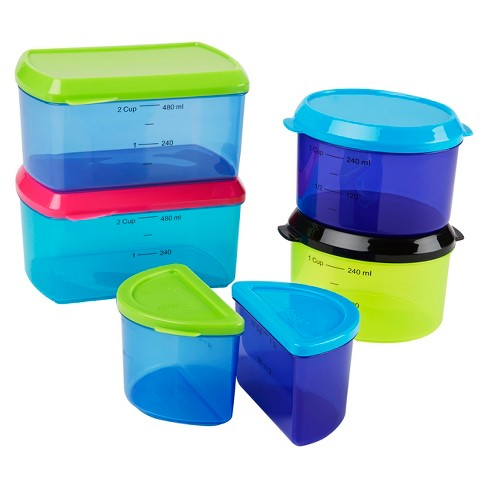 Fit & Fresh Kids Healthy Lunch Box Set - 14pc - image 1 of 4