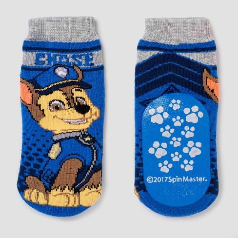 26a3c15c4 Toddler Boys' PAW Patrol® Slipper Socks - Blue 4T-5T : Target