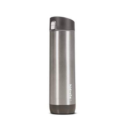 HidrateSpark 21oz Vacuum Insulated Stainless Steel Bluetooth Smart Water Bottle with Chug Lid