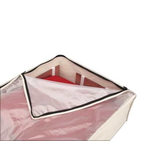 household essentials cedarline cotton canvas blanket bag target