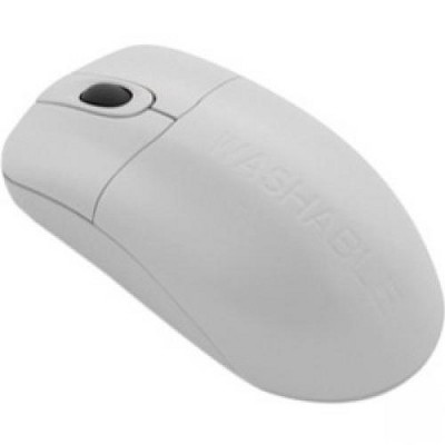 Seal Shield Silver Storm Wireless Medical Mouse - AES128 Encryption - Optical - Wireless - Radio Frequency - 2.40 GHz - White - USB - 1000 dpi