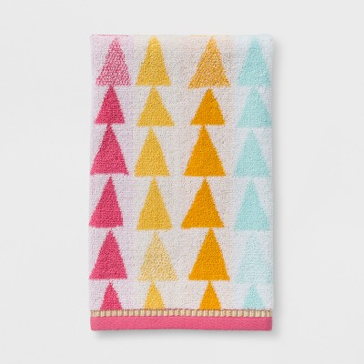 Triangles Hand Towel - Pillowfort™
