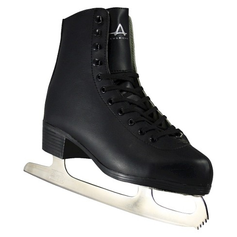 Men's American Tricot Lined Figure Skate - Black - image 1 of 3