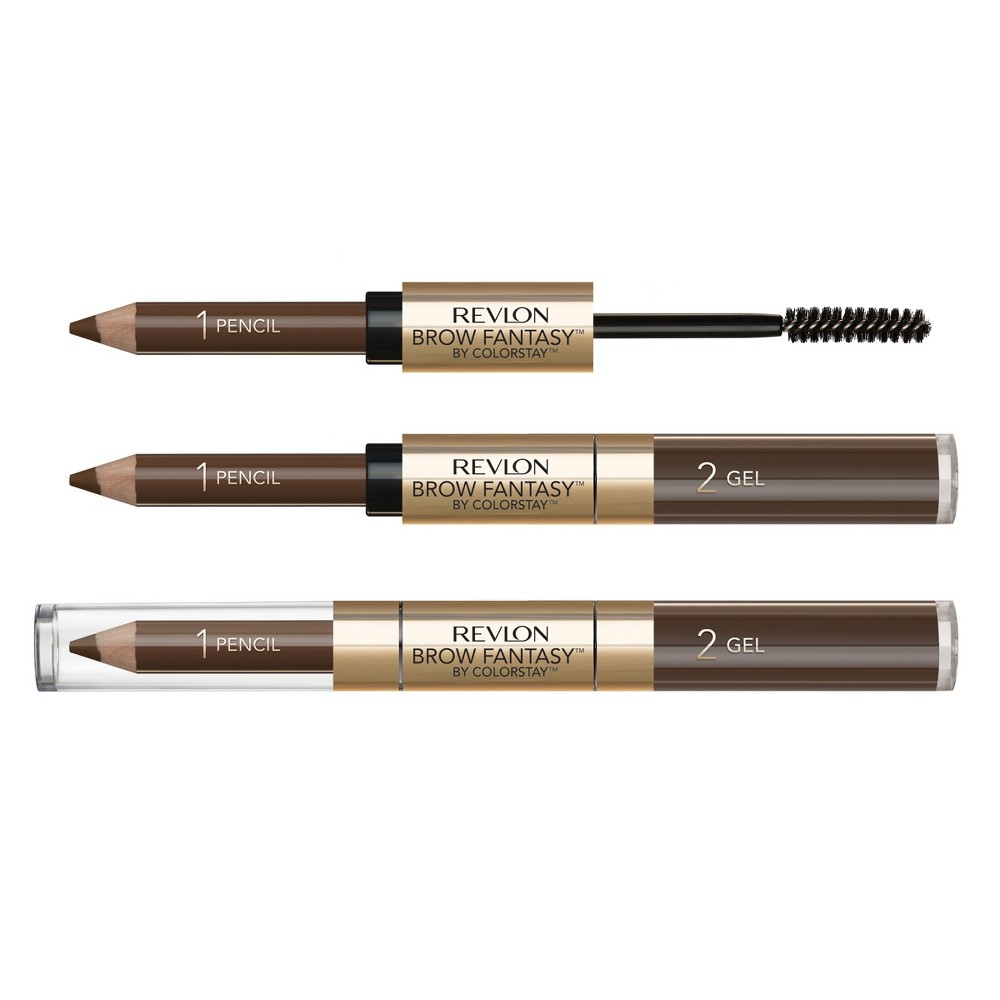 Image of Revlon ColorStay Brow Fantasy Brow Pencil And Gel Brunette - 0.11oz