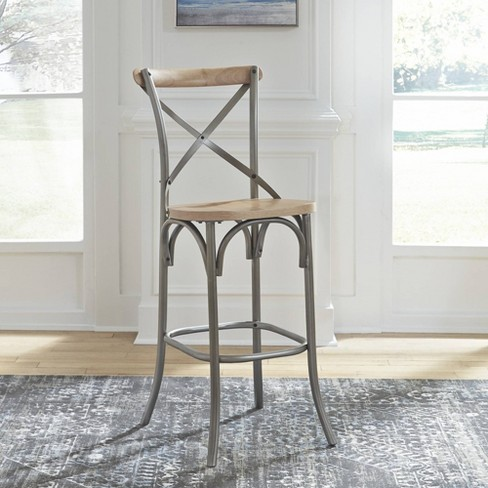 French Quarter Bar Stool Natural - Home Styles - image 1 of 2