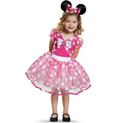 Mickey Mouse Clubhouse Pink Minnie Mouse Tutu Deluxe Toddler Costume