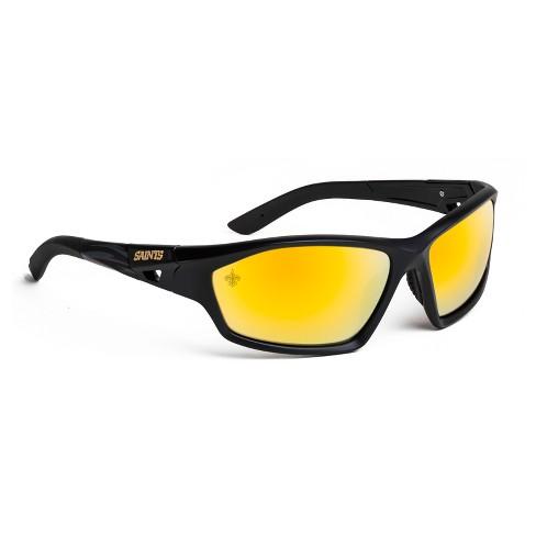 3a9dc50b2dc0 NFL New Orleans Saints Premium Lateral Sunglasses : Target