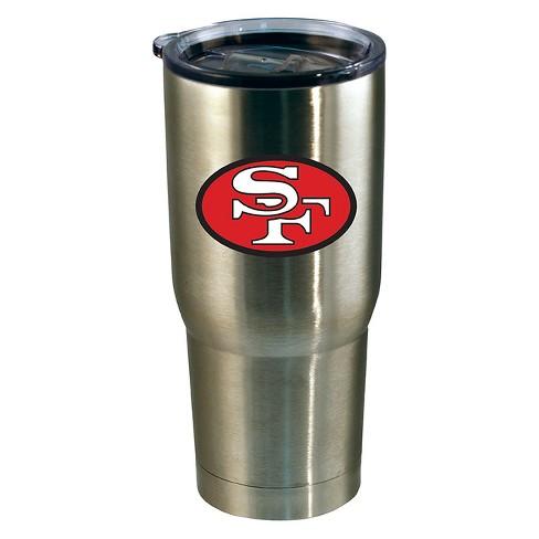 5ff39a61 San Francisco 49ers 24oz Stainless Steel Retro Tumbler