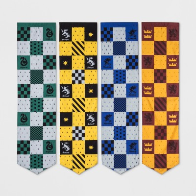 Harry Potter 4pc Hogwarts House Pennants