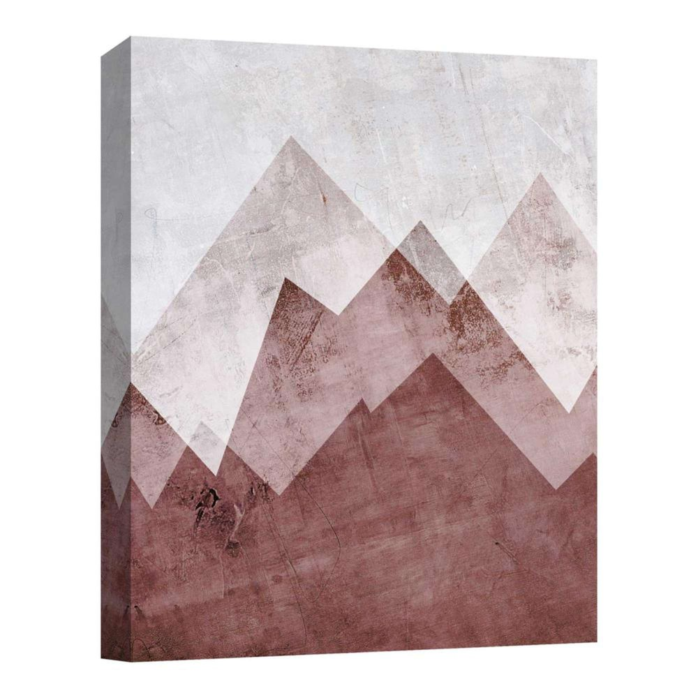 Brown Mountains Decorative Canvas Wall Art 11