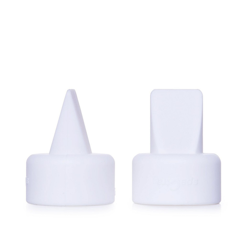 Image of Spectra Duckbill Valve White Set of 2 (Silicone Valve)