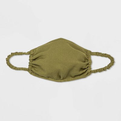 Women's Ruched Face Mask - A New Day™