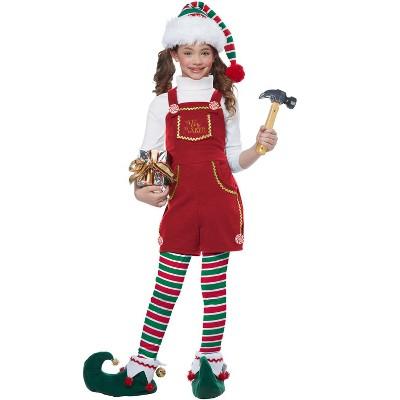 California Costumes Toymaker Elf Girl Child Costume