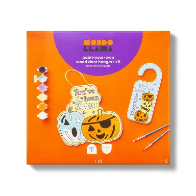 You Got Booed 3 Tiered Pumpkin Hanger with Paints - Mondo Llama™