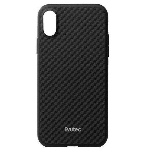 new style 8a6db eb03e Evutec Apple iPhone XR AER Karbon Case (with Car Vent Mount) - Black