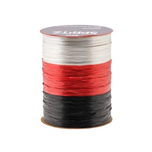 3ct Red, White and Black Raffia 42ft - Wondershop™ - image 1 of 1