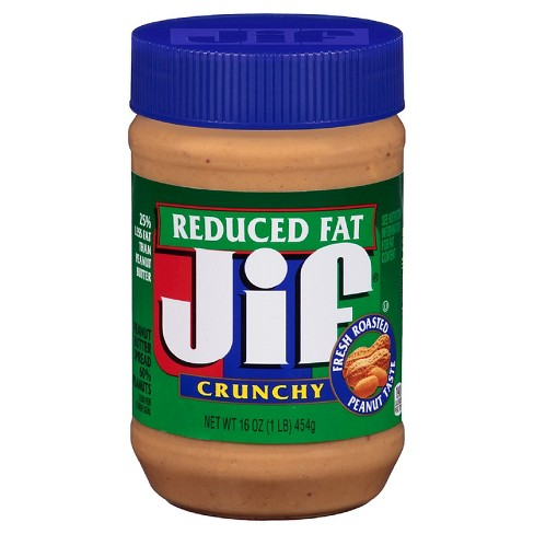 Jif® Reduced Fat Crunchy Peanut Butter - 16oz - image 1 of 1