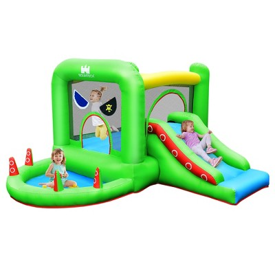 Costway Inflatable Bouncer Kids Bounce HouseJump Climbing Slide Ball Pit