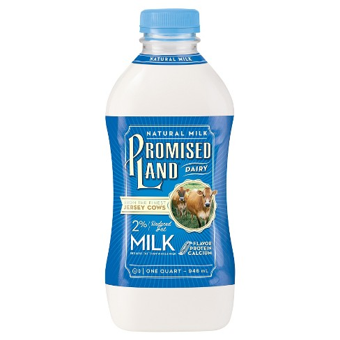 Promised Land White Red Fat Milk - 1qt - image 1 of 1