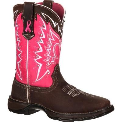Durango Benefiting Stefanie Spielman Women's Pink Western Boot