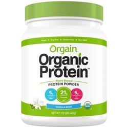 Orgain Organic Vegan Plant-Based Protein Powder - Vanilla Bean - 16.32oz