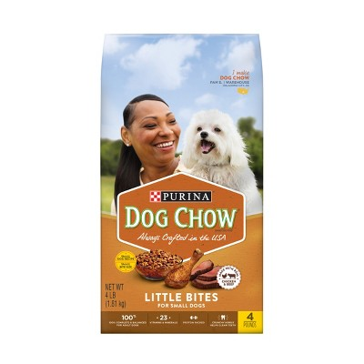 Dog Food: Purina Dog Chow Little Bites