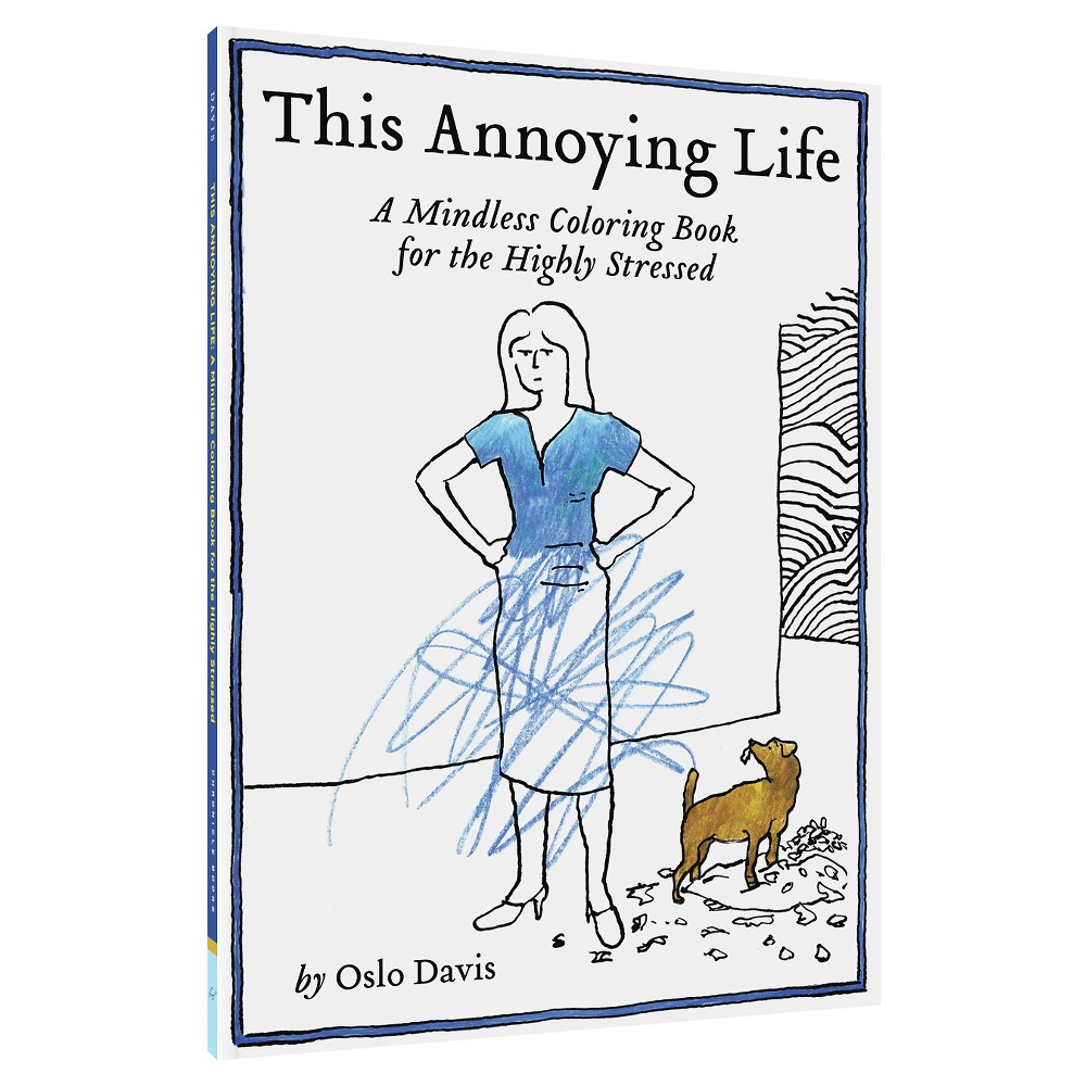 'This Annoying Life' Coloring Book, Multi-Colored