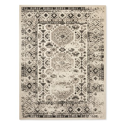 Cream Medallion Woven Area Rug 5'X7' - Threshold™