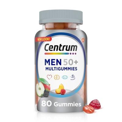 Centrum Men's 50+ Gummies - 80ct