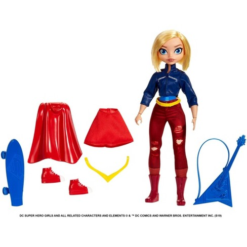 DC Super Hero Girls Teen to Super Life Supergirl Doll - image 1 of 4