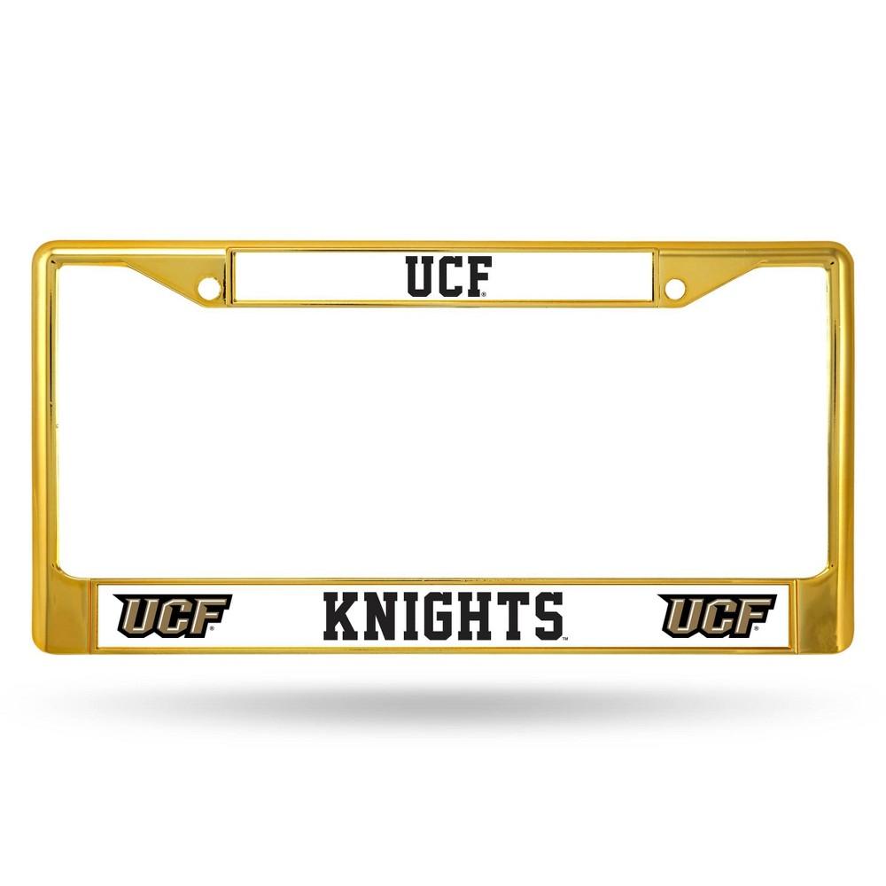 Ncaa Ucf Knights Colored Chrome Frame