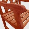 Vifah Outdoor Wooden Armchair - Brown - image 3 of 4