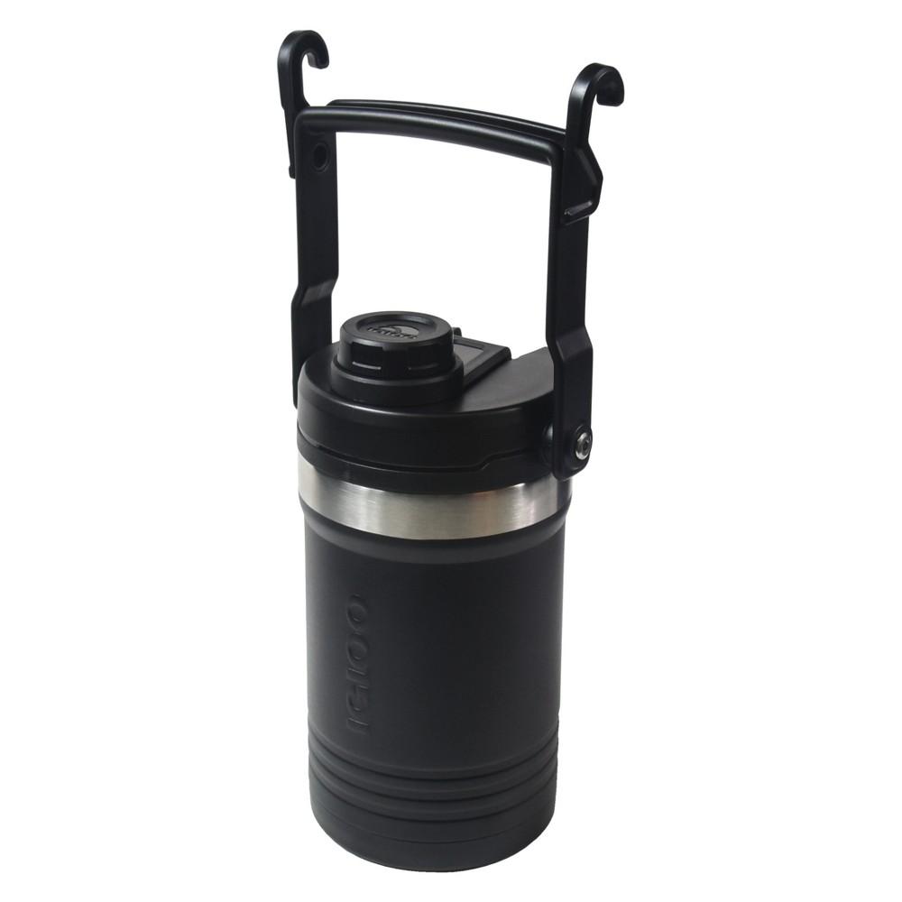Igloo Half Gallon Logan Stainless Steel Vacuum Insulated Jug Black