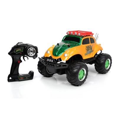 Hollywood Rides Teenage Mutant Ninja Turtles Elite 4x4 RC Volkswagen Baja Beetle 1:12 Scale Remote Control Car 2.4g