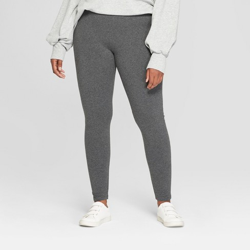 40847eb80b253 Women s Plus Size Leggings - Ava   Viv™ Dark...   Target