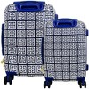 The Macbeth Collection 2pc Geo Print Hardside Luggage Set - image 2 of 3
