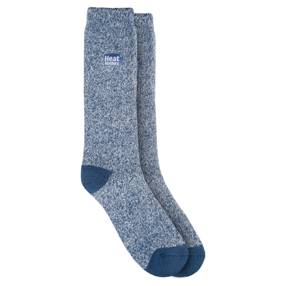 Heat Holders Women's Lite Thermal Crew Socks - Denim/Cream 5-9, Denim Blue Heat Holders Women's Lite Thermal Crew Socks - Denim/Cream 5-9 Color: Denim Blue. Gender: Female. Age Group: Adult. Pattern: Solid. Material: Acrylic.